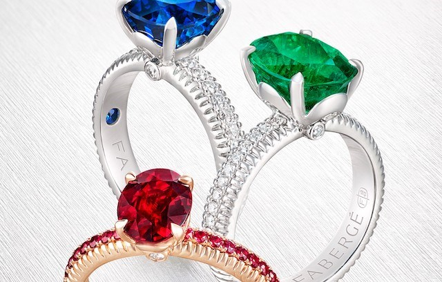 FABERGÉ THREE COLOURS OF LOVE